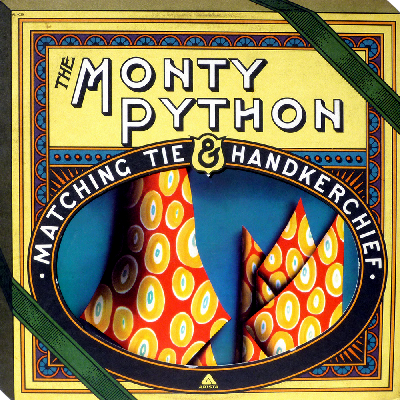 Monty Python Matching Tie and Handkerchief